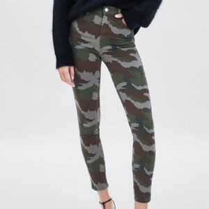 New ZARA High Rise Skinny